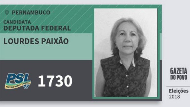 Partido de Bolsonaro deu R$ 400 mil à candidata que teve só 274 votos na eleição passada, Lourdes Paixão