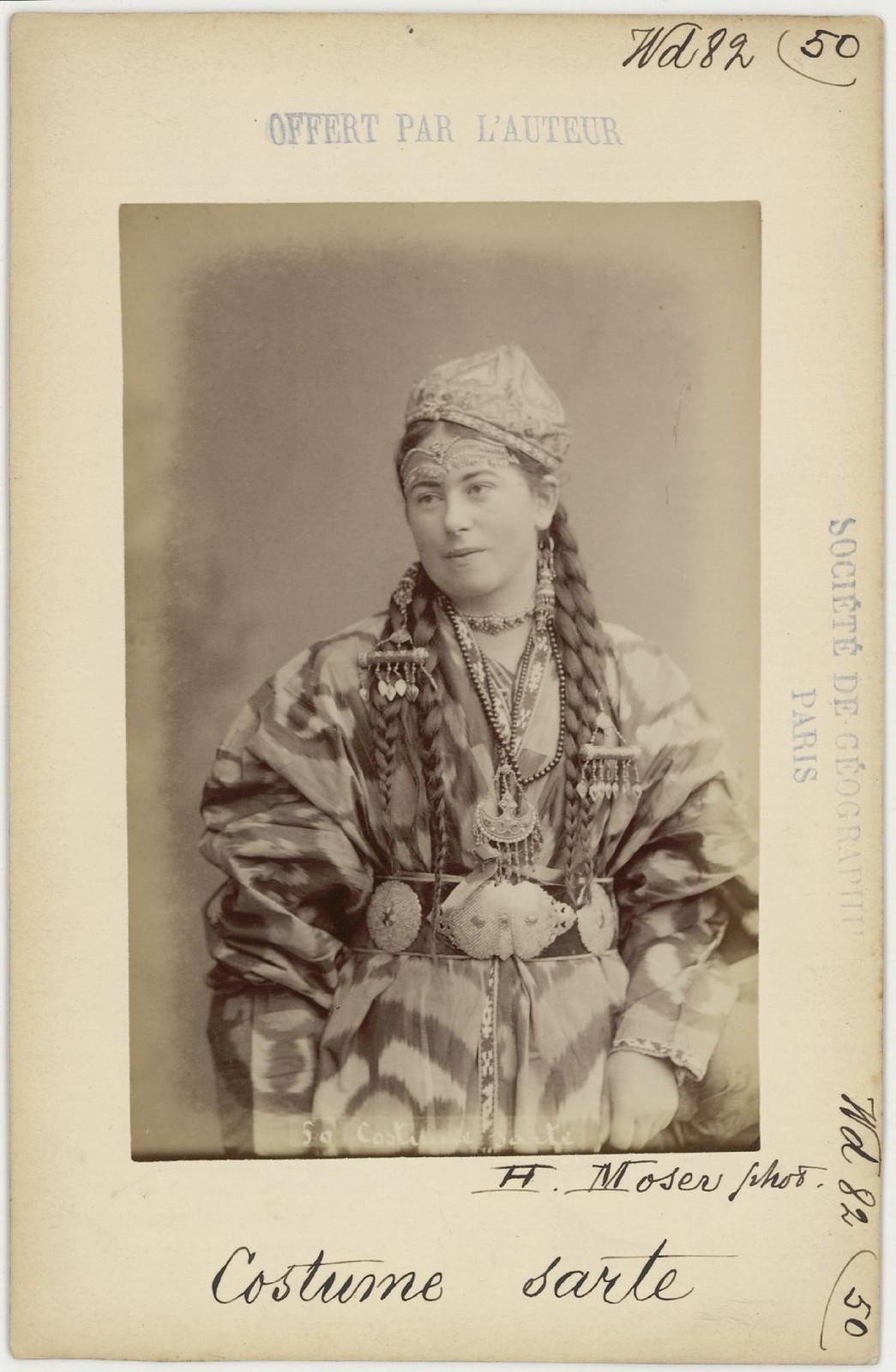 50. Сартянка в традиционной одежде