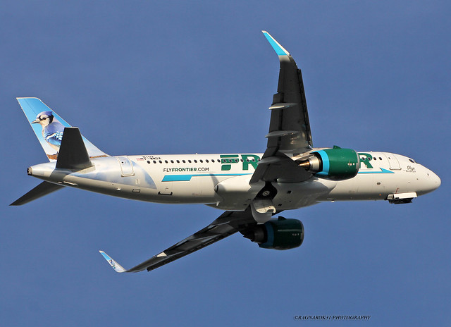 A320NEO FrontierAirlines F-WWDX-003 cn8102, Canon EOS 60D, Sigma 50-500mm f/4.5-6.3 APO DG OS HSM