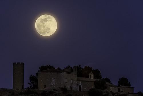 Super Luna De Nieve en Alcañiz