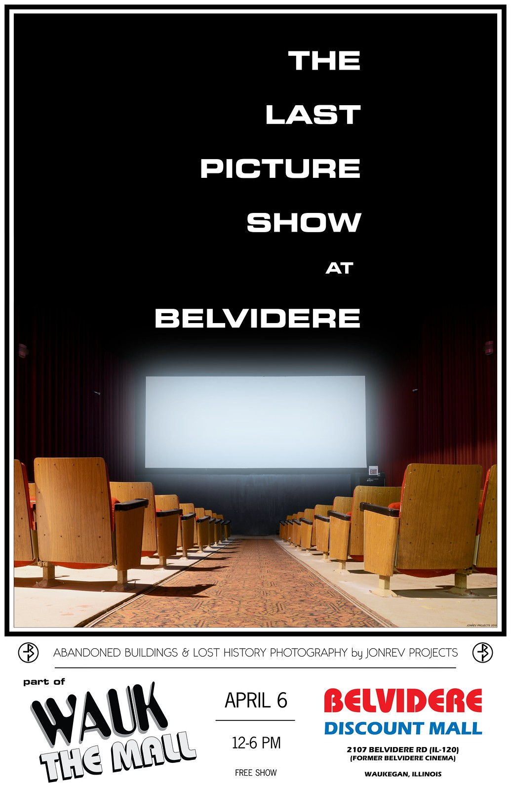 THE LAST PICTURE SHOW at BELVIDERE