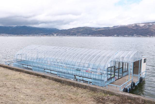 Photo:3月の諏訪湖 By Tokutomi Masaki