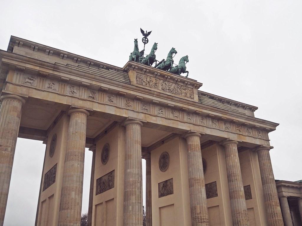 brandenburgin portti berliini saksa