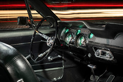 grey 1967 Ford Mustang Coupe - Shot 4 - Interior