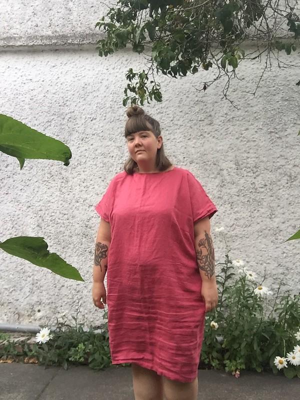 Schnittchen Rose Dress Linen