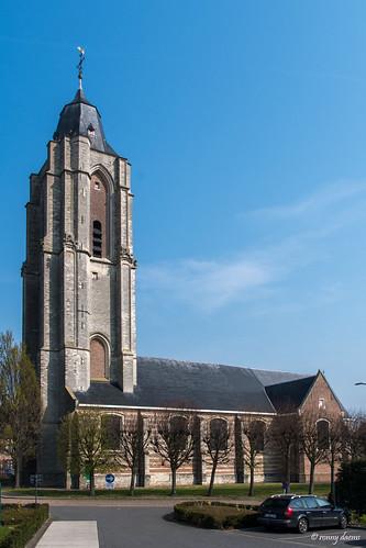 Verrebroek, Sint-Laurentiuskerk.