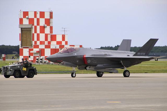 JASDF F35ASsq F-35A 89-8709, Canon EOS 80D, Tamron 16-300mm f/3.5-6.3 Di II VC PZD Macro