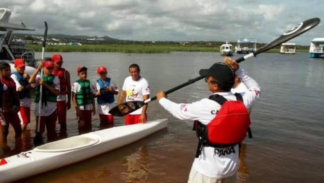 Canoagem em Santarém