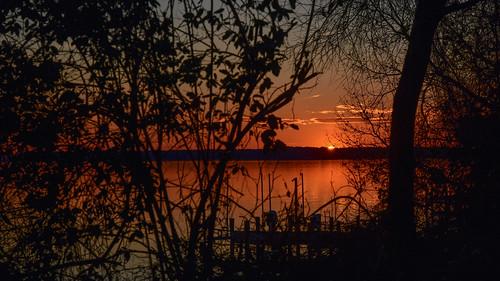 maryland leonardtown bretonbay potomacriver sunset md unitedstates weather climate