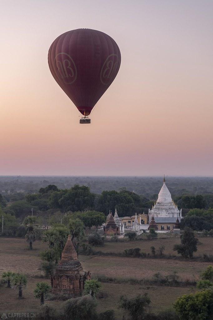 Balloon over Bagan - Bagan