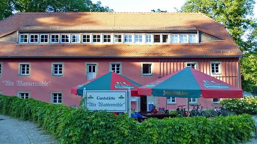 2014.06.12  Gaststätte - Alte Wassermühle - Hauptspree (43)