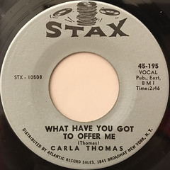 CARLA THOMAS:B-A-B-Y(LABEL SIDE-B)