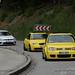 Yellow VW Golf Mk4 R32