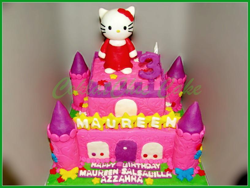 Cake Hello Kitty MAUREEN 18 / 12