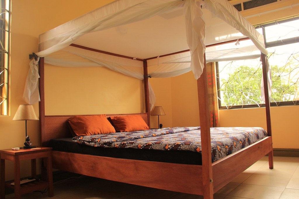 Deluxe double en-suite, Blue Monkey, Entebbe