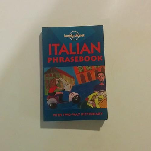 Lonely Planet, Italian Phrasebook #books #travel #venice #veneto #italy #italianlanguage #phrasebook #lonelyplanetvenice #tripreading