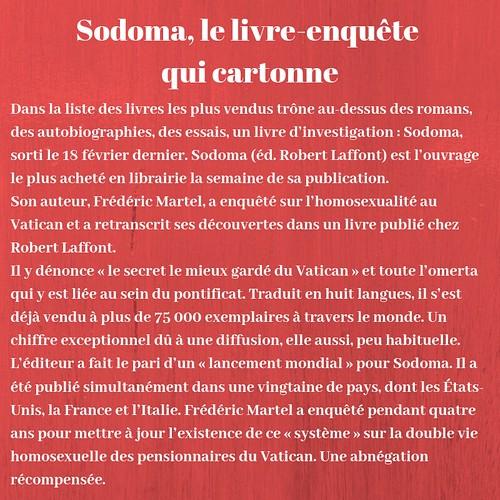 Sodoma, le livre enquête qui cartonne