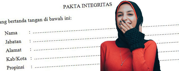 Download Pakta Integritas Bantuan BOP Madin