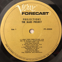 THE BLUES PROJECT:PROJECTIONS(LABEL SIDE-A)