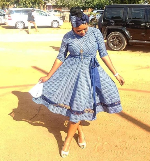 Shweshwe dresses styles 2019 For Ladies