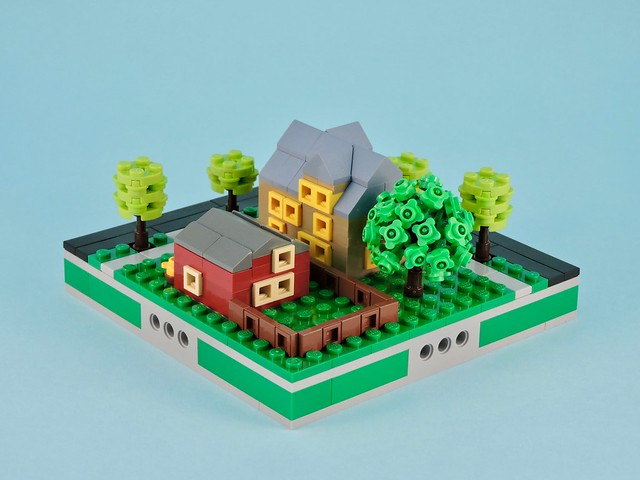 A collection of micro city blocks