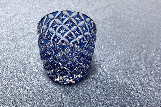 江戸切り子のグラス