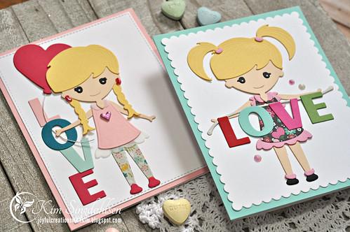 Spellbinders Valentine Flat