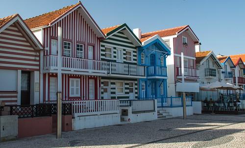 The Striped Houses of Costa Nova do Prado