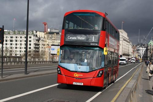 Go-Ahead London WHV176 LF67EXK