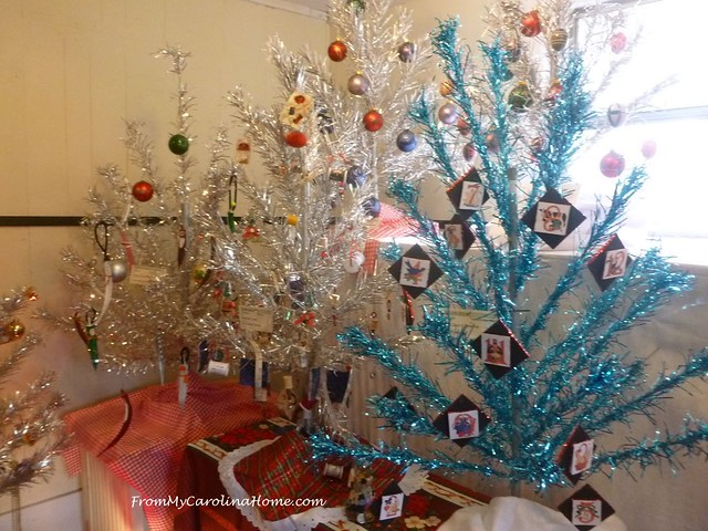 Aluminum Christmas Trees at FromMyCarolinaHome.com