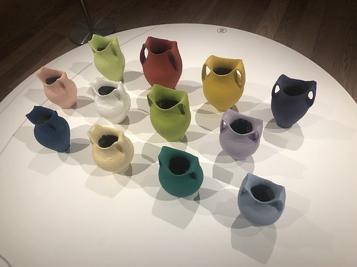 Ai Weiwei's coloured vases