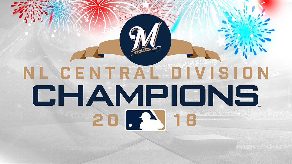 graphic about Printable Brewers Schedule referred to as 2019 Formal Central Section Winner Milwaukee Brewers