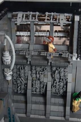LEGO ALIEN spaceship interior, Nikon D3300, AF-S DX VR Zoom-Nikkor 18-105mm f/3.5-5.6G ED