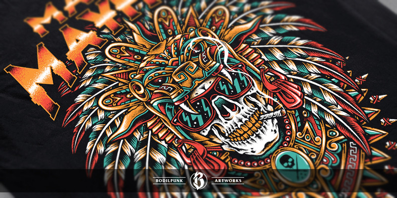 Details - Skull Warrior