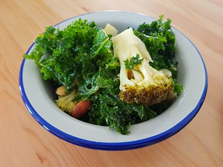 Broccoli and Kale Salad at Flora West End