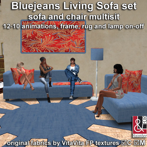 BlueJeans Living Sofa set multisit