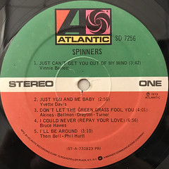 SPINNERS:SPINNERS(LABEL SIDE-A)