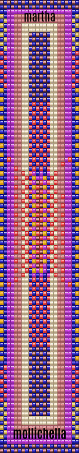 Free Beadloom pattern by Martha Mollichella