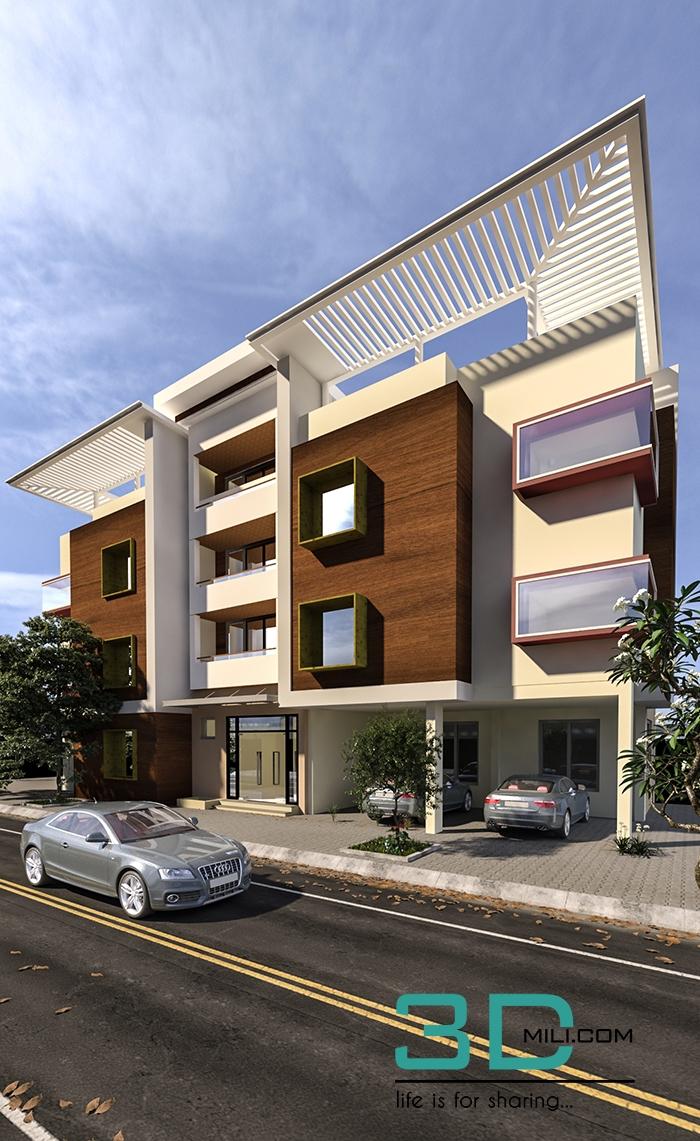 3d Max Models Buildings Free Download Office building design 3d