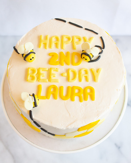 Strange Treats Happy Bee Day Cake Funny Birthday Cards Online Inifofree Goldxyz