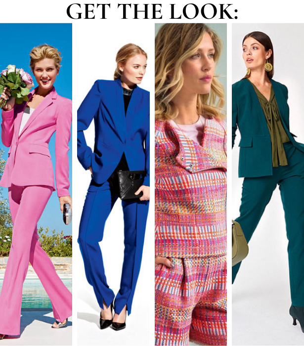 Fruity Suiting GET THE LOOK