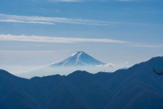 富士山@鶴寝山
