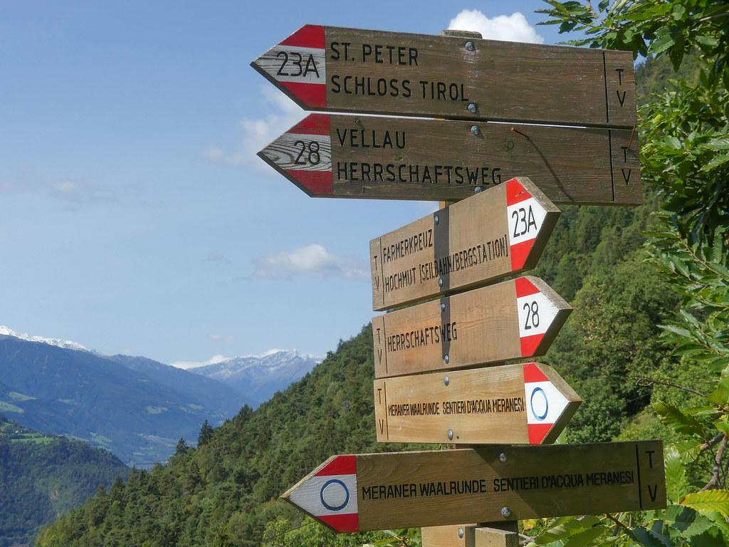 2018 Südtirol - Wanderung Partschins