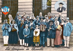 1960 Champlitte (32) compars de Chanitte