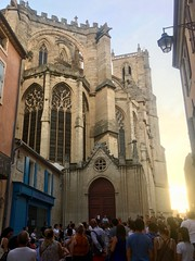 2018.06.21 - cathedral plaza - Photo of Narbonne