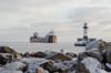 Duluth Trip - Jan 2019 - Str Phillip R. Clarke Approaching Duluth