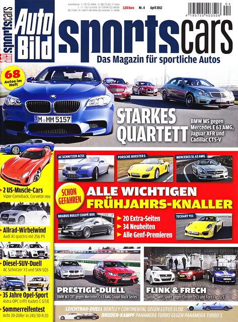 Auto Bild Sportscars 4/2012