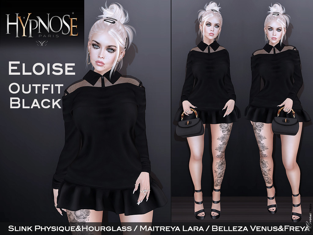 HYPNOSE – ELOISE OUTFIT BLACK