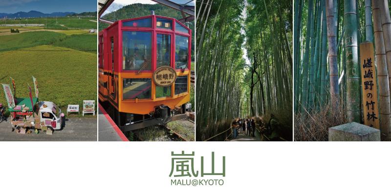 嵐山半日遊(觀光小火車和嵐山竹林)文章大圖