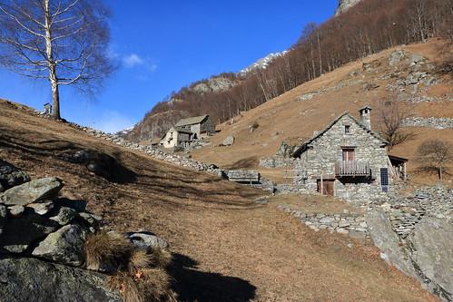 Monte di Dentro, Cavergno, Valle Maggia. Canton Ticino, Svizzera